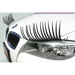 Black Car Lashes