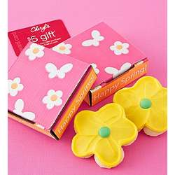 Happy Spring Cookie Card Gift Box