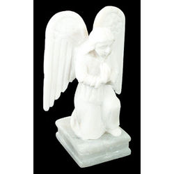 Angel in Prayer Stone Sculpture
