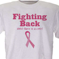 Fighting Back Breast Cancer Awareness T-Shirt