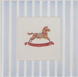 """Toy Horse 12"""" Art Print"""