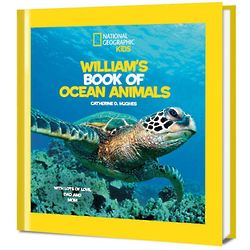 National Geographic Personalized Kids Book of Ocean Animals