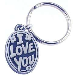 Personalized I Love You Key Chain