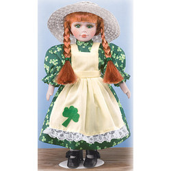 Irish Colleen Porcelain Doll
