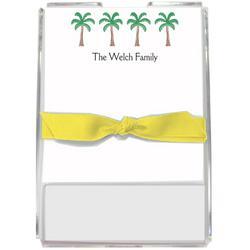 Palm Paradise Personalized Memo Set