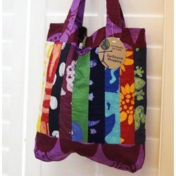 Recycled Cotton Batik Tote Bag
