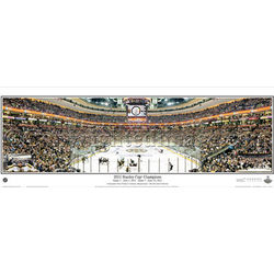 2011 Stanley Cup® Champions Panoramic Poster