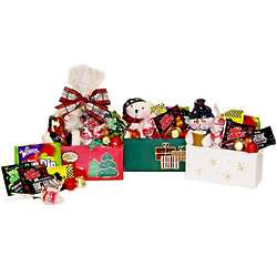 Fun Size Holiday Gift Box with Coordinating Stuffed Plush Animal