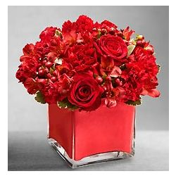 Red Colors of Love Floral Arrangement
