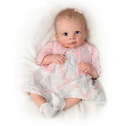 A Moment In My Arms, Forever In My Heart Lifelike Baby Girl Doll