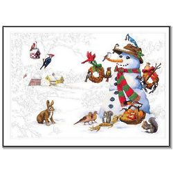 Frosty's Gifts Christmas Cards Set