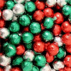 Milk Chocolate Christmas Balls