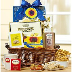 Sunflower Fields Gourmet Food Gift Basket