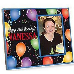 Personalized Adult Birthday Frame