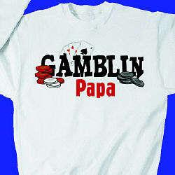 Personalized Gambling Sweatshirt