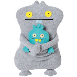 Gund Uglydoll Uglybuddies Babo and Babo's Bird Plush