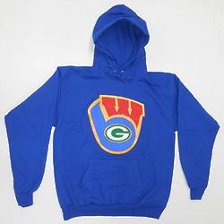 Youth's Wisconsin Badgers Brewers Packers Sweatshirt