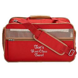 Classic Style Personalized Pet Carrier