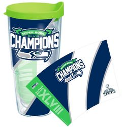 Seattle Seahawks Super Bowl XLVIII Champions Tumbler
