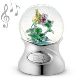 Thank You For Always Being There Snow Globe