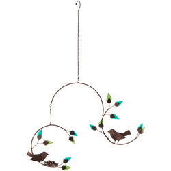 Forest Birds Metal Mobile