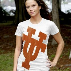 Ladies My U Texas Longhorns Gigantor Slim Fit T-shirt