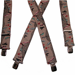 Fishermans Clip-End Suspenders