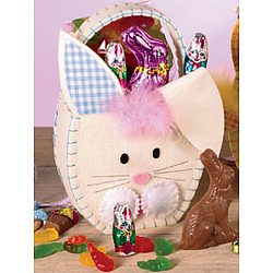 Easter Friends Bunny Tote with Candy