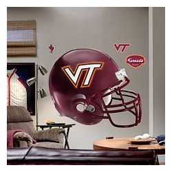 Virginia Tech Hokies Helmet Wall Decal