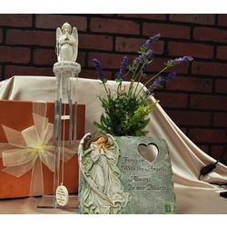 Angel Memorial Garden Gift Basket
