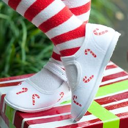 Candy Canes Christmas Shoes
