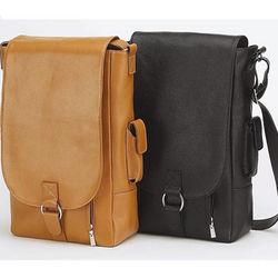Leather Messenger Wine Bag