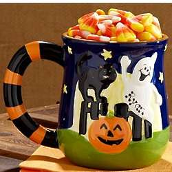 Personalized 3-D Halloween Mug