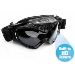 HD Video Camera Ski Goggles