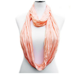 Infinity Spring Scarf in Pink