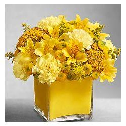 Yellow Colors of Love Floral Arrangement