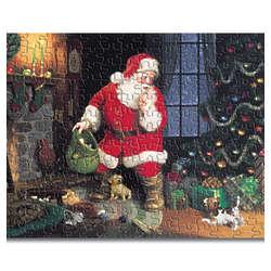 Santa's Puppy Pals Jigsaw Puzzle