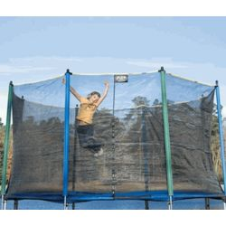 14-Foot Outdoor Trampoline Enclosure