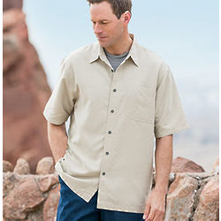 Desert Pucker Short Sleeve Shirt