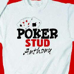 Personalized Poker Stud Sweatshirt