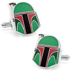 Boba Fett Helmet Star Wars Cufflinks