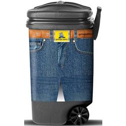 Jeans Trashcan Pants