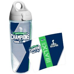 Seattle Seahawks Super Bowl XLVIII Champions Water Bottle
