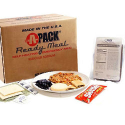1 Case Ready Meal MREs Variety Pack