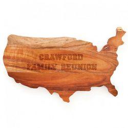 USA Personalized Cutting Board