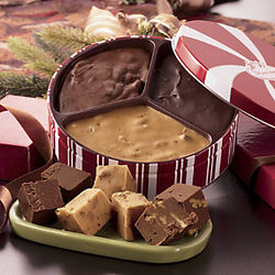 Old-Fashioned Fudge Trio - 1.5 lb. Tin