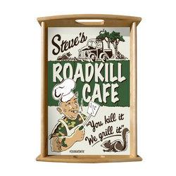Roadkill Cafe Serving Tray