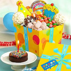 Great Big Happy Birthday Sweets & Treats Box