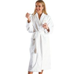 Women's Deluxe Turkish Terrycloth Bathrobe