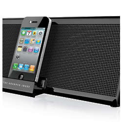 Sharper Image Portable Audio Dock